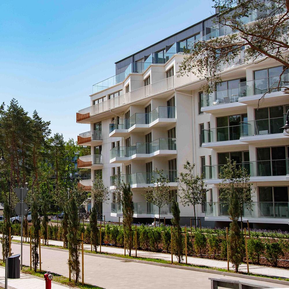 ALBUS - apartamenty przy plaży w Świnoujściu